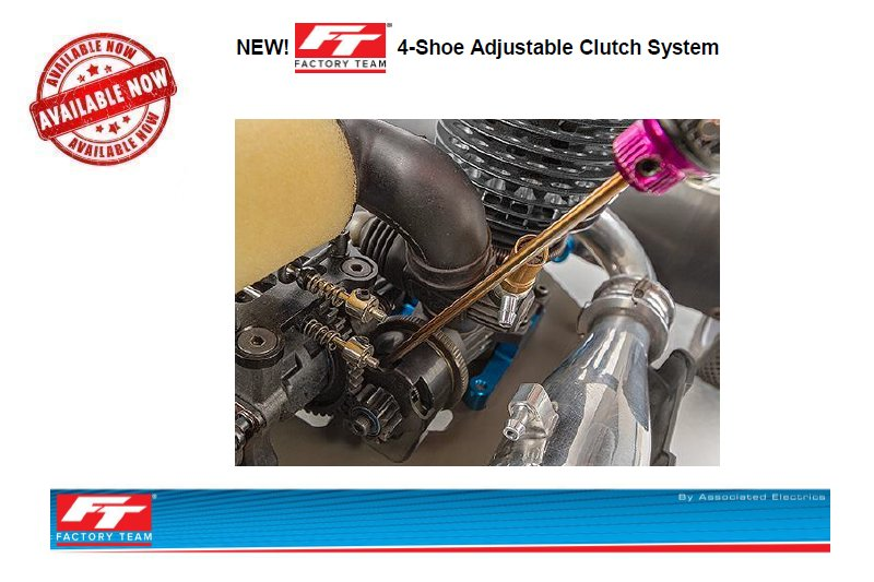 Associated FT 4-Shoe Adjustable Clutch System