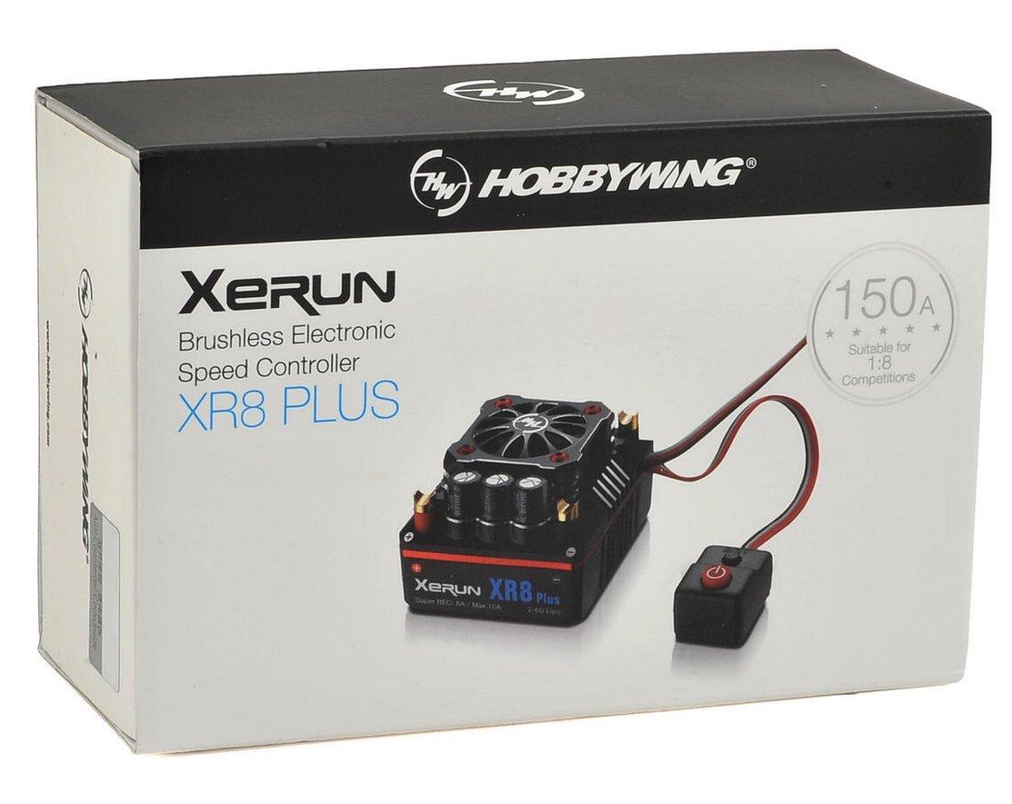 Hobbywing Xerun XR8 Plus 1/8 Competition Sensored ...